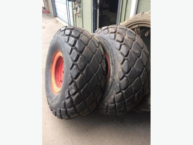 """DONUT"" style Tractor Turf Tires"