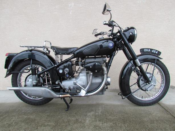 1950 Sunbeam S8 500cc close to original  very nice bike $11500