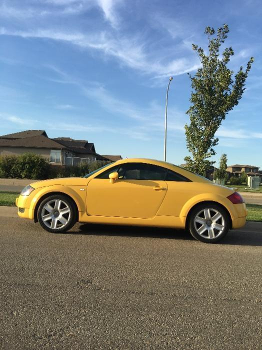 Audi Tt Quattro Awd Turbo 6 Speed South Regina