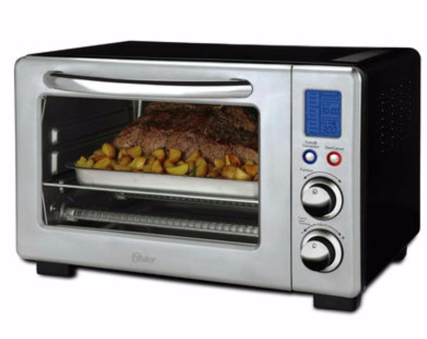 Oster Digital Countertop Oven E02 : Oster 6-Slice Convection Digital Countertop Oven, Stainless Steel West ...