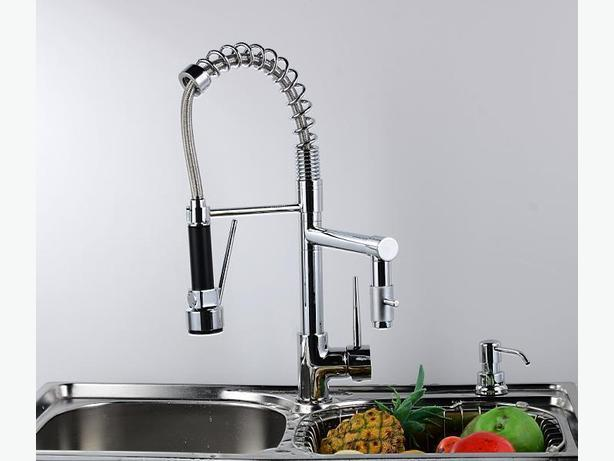 Luxury modern kitchen faucet sooke victoria for Expensive kitchen faucets