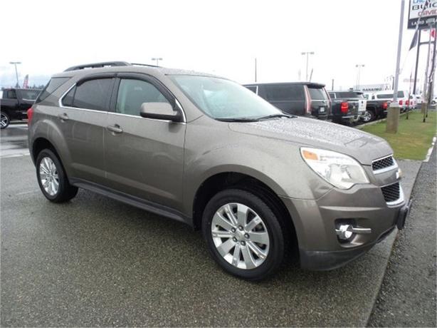 2011 chevrolet equinox 1lt w back up camera outside comox. Black Bedroom Furniture Sets. Home Design Ideas