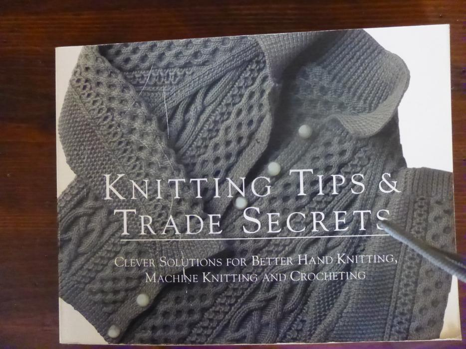 Knitting Tips And Trade Secrets : Knitting tips trade secrets book saanich victoria