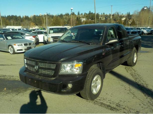 2010 Dodge Dakota SXT Crew Cab Short Box 4WD
