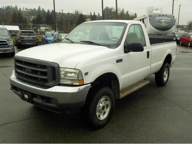 2002 Ford F-350 SD XL Regular Cab Long Box 4WD w/ Power Tailgate