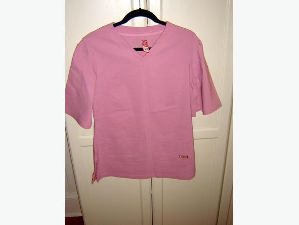 New Pink Scrub Set