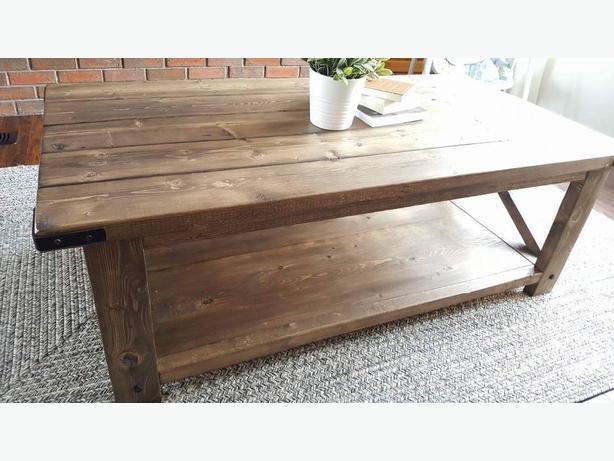 rustic x coffee table anna white outside victoria victoria. Black Bedroom Furniture Sets. Home Design Ideas