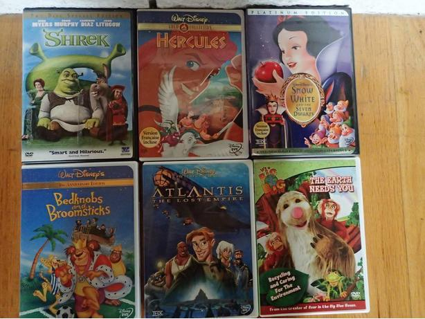 2 Children's DVD Disney and others $15