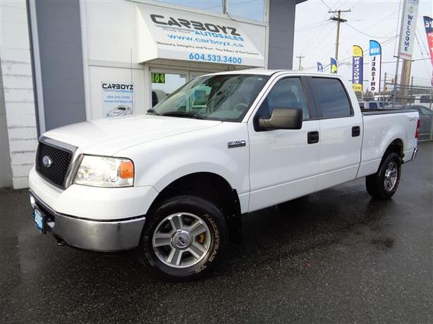 2007 ford f150 xlt 4x4 crew cab 6 5 ft box local no accidents outside victoria victoria. Black Bedroom Furniture Sets. Home Design Ideas