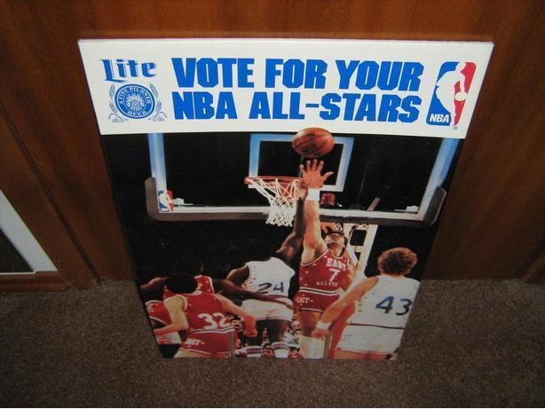 1984 NBA ALL STAR GAME PROMO PICTURE
