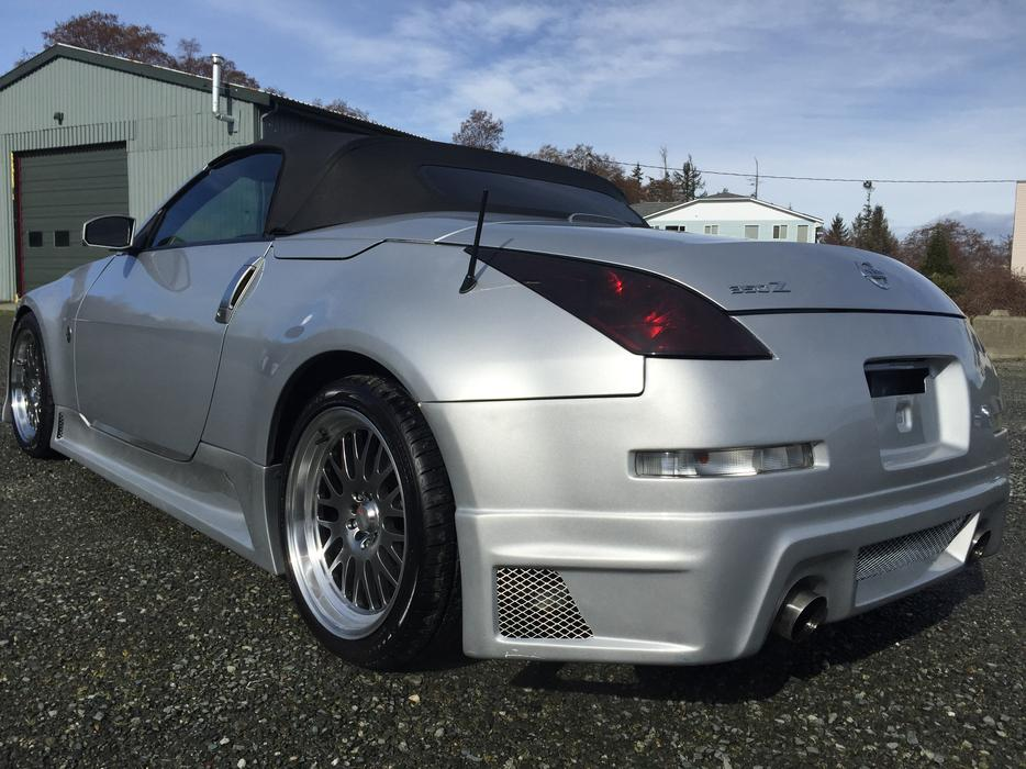 2005 nissan 350z convertible courtenay comox valley mobile. Black Bedroom Furniture Sets. Home Design Ideas