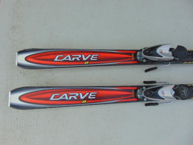 Ski head carve red black with bindings victoria city