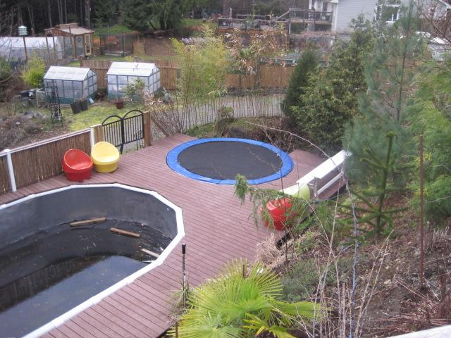 Pool Oval 16 X 34 Above Ground Swimming Sooke Victoria