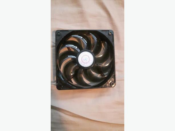OBO Cooler Master Sickleflow 120mm red LED fan
