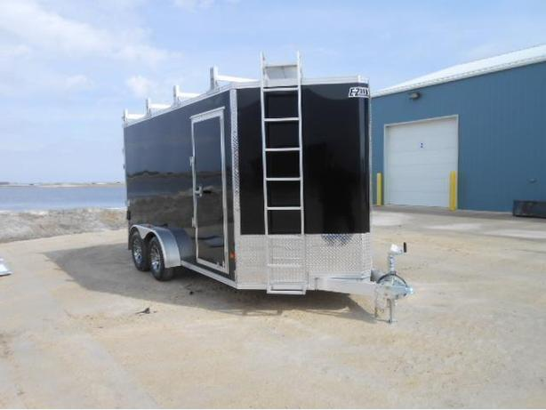 2017 7X14 Ultimate Contractor Trailer HH4130