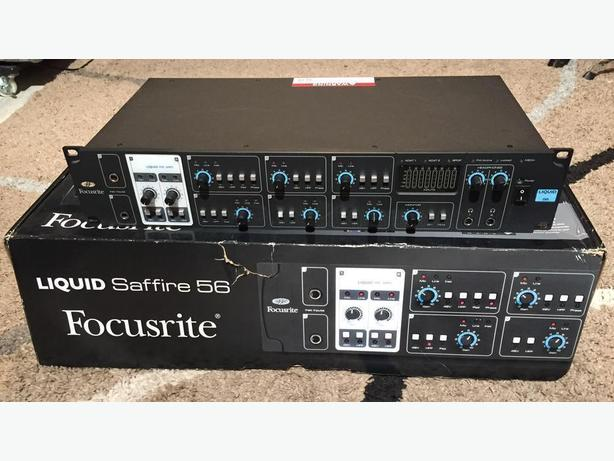 focusrite liquid saffire 56 audio interface west shore langford colwood metchosin highlands. Black Bedroom Furniture Sets. Home Design Ideas