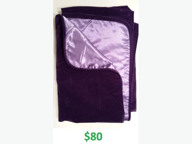 blanket with moisture barrier