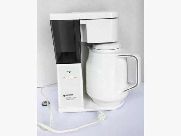 Black and Decker Thermal Carafe  coffee machine with Glass insert Coffee Pot