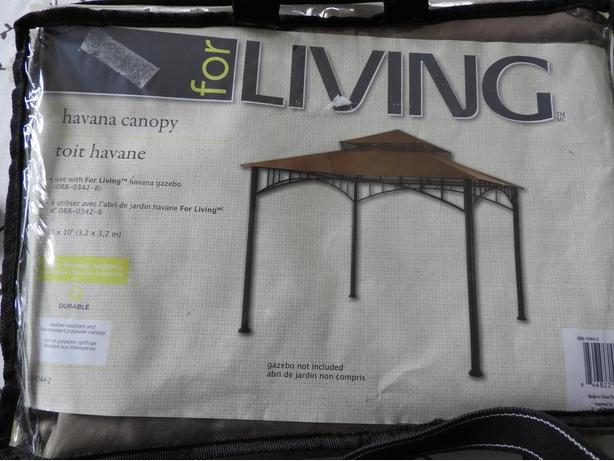 For Living Havana Gazebo Canopy. Replacement ... & For Living Havana Gazebo Canopy Parksville Nanaimo