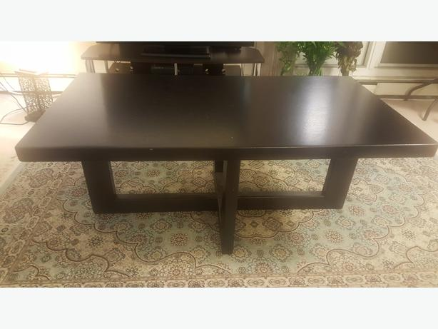 Coffee table and two end tables central regina regina for Coffee tables regina