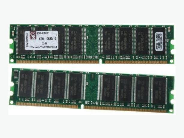 4x 1GB + 6x 512MB DDR PC3200 Desktop RAM.