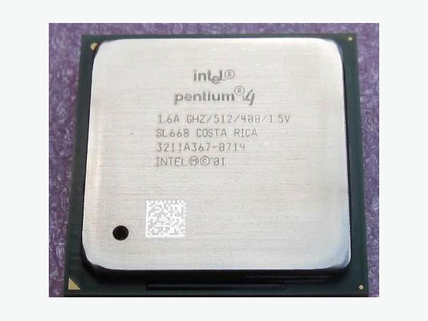 1.6 GHz Intel Pentium 4 SL668 CPU