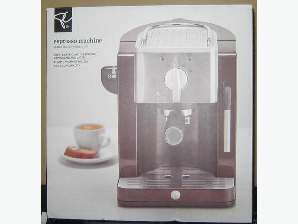 NEW Expresso Machine by President's Choice