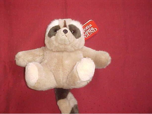 GUND STUFFED RACCOON BANDIT
