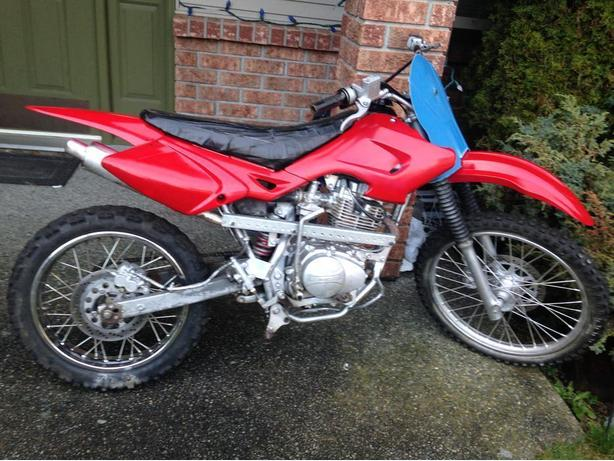 2007 Honda Baja 150cc Dirt Bike For Sale