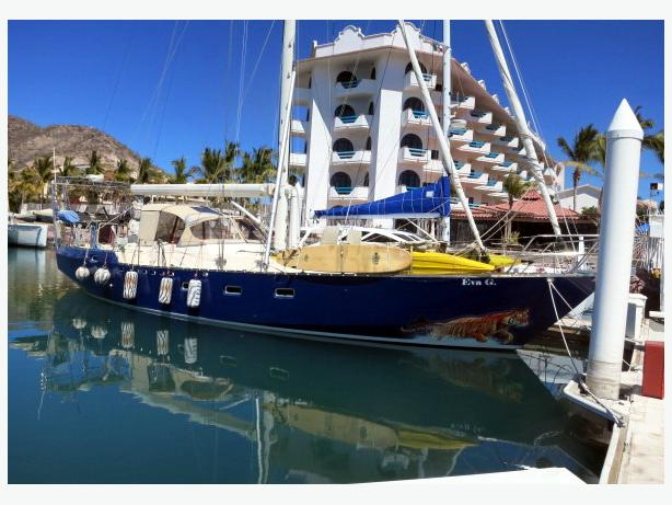 Cutter Sailboat For Sale - Roberts 54 - Eva G