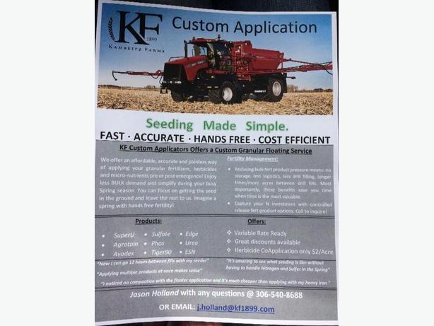 Custom Fertilizer Spreader Floating