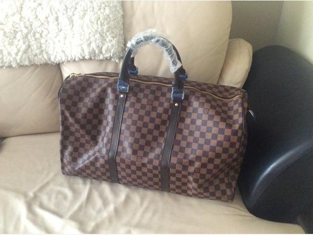 a156f7275603 Large Lv Louis Vuitton Replica Duffle Bag Duncan Cowichan