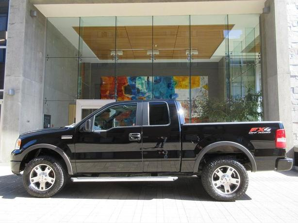 2005 ford f150 fx4 off road super cab 4x4 leather seats. Black Bedroom Furniture Sets. Home Design Ideas