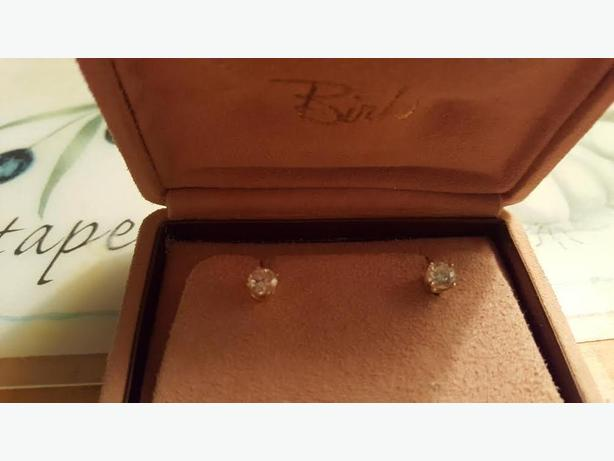 Birk's Diamond Stud Earrings