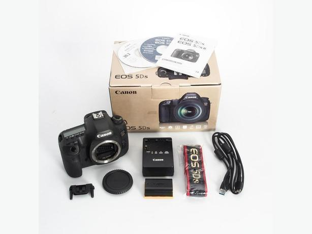 Canon EOS 5DS 50.6 MP Full Frame Digital SLR Camera Body in Box ...