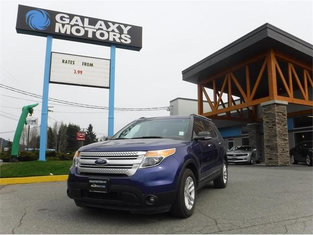 2015 Ford Explorer XLT - 4WD, Navigation, Reverse Park Assist