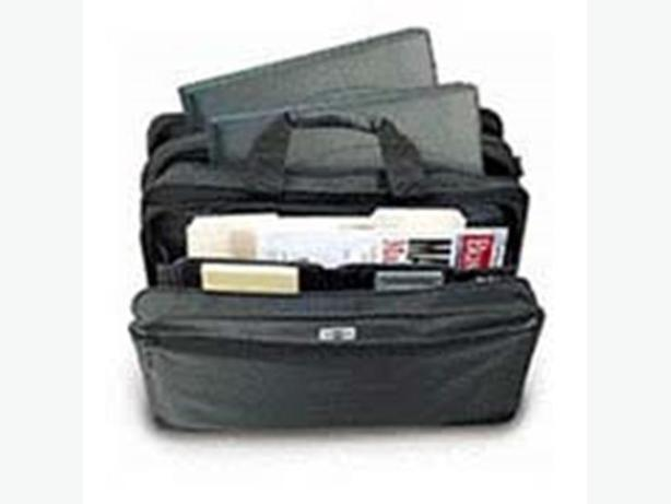 PORT Messeger Bag- Expandable 4-way air cushion for 2 Laptops
