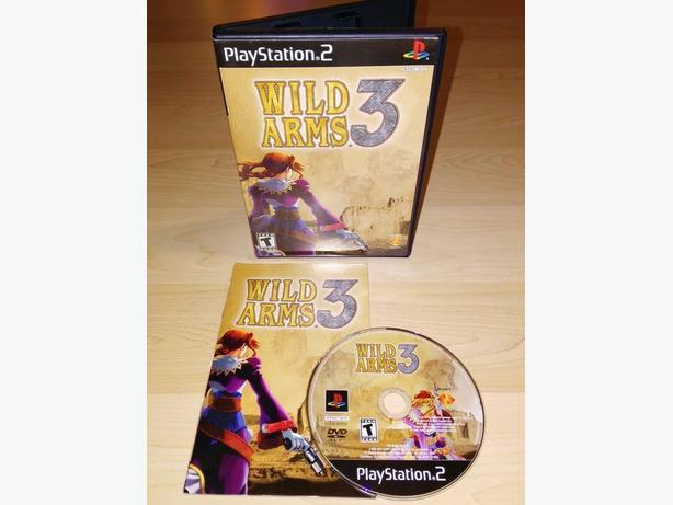 Wild Arms 3 For The Playstation 2