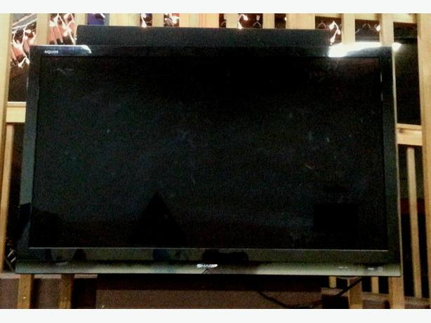 "46"" Sharp flat screen"