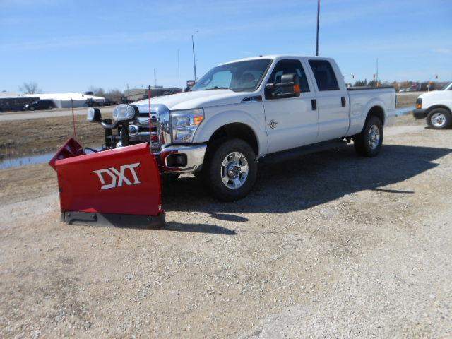 2011 Ford F 250 Super Duty Boss Snow Plow Outside