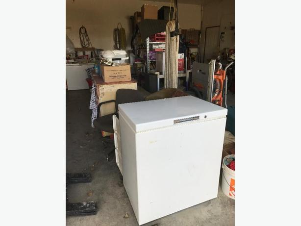 small chest freezer for sale rural regina regina. Black Bedroom Furniture Sets. Home Design Ideas