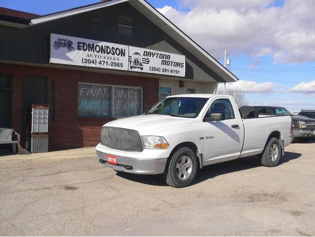 2010 Dodge Ram 4x4 Regular Cab, Long Box