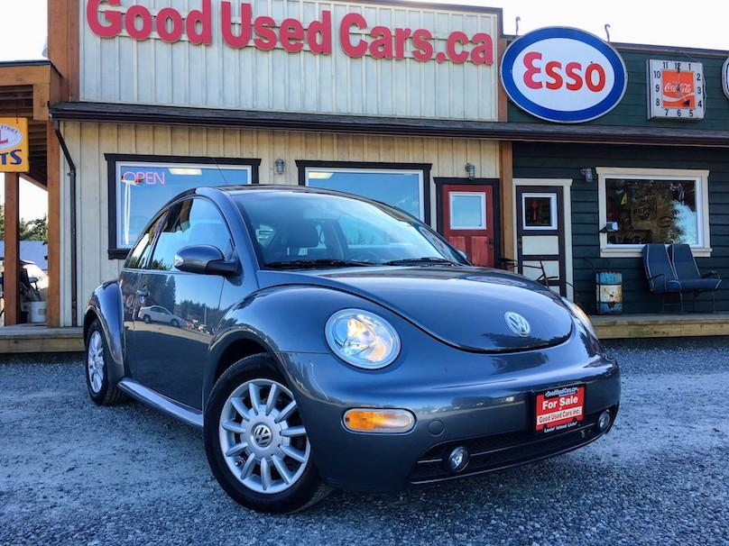2005 volkswagen beetle leather auto full service history malahat including shawnigan lake. Black Bedroom Furniture Sets. Home Design Ideas
