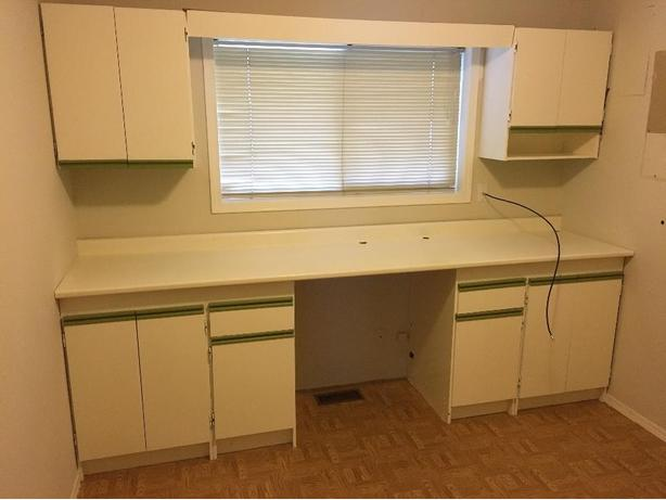 Free kitchen or add on cabinets central nanaimo nanaimo for Kitchen cabinets nanaimo