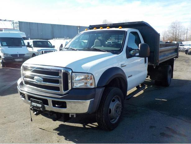 2006 Ford F-550 Power Stroke Regular Cab 4WD Dually Diesel Dump Truck