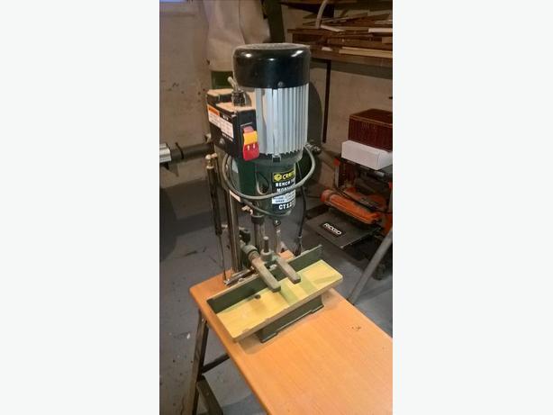 bench top mortising machine
