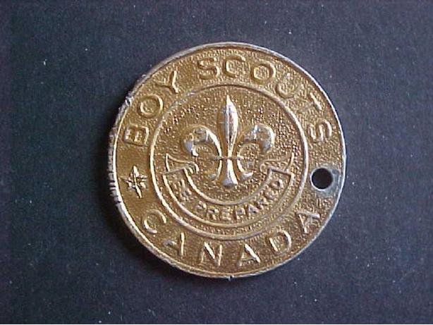 GOOD TURN DAILY BOY SCOUTS CHALLENGE COIN