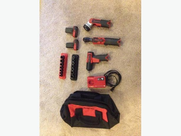 snap on 3/8 impact gun ratchet light kit