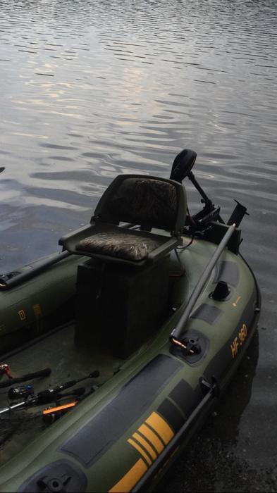 Sevylor fish hunter 360 inflatable boat north saanich for Sevylor fish hunter 360