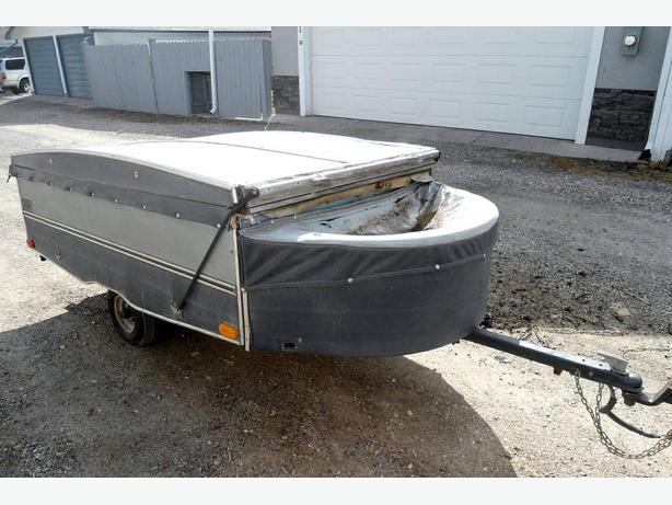 CONVERTED TENT UTILITY / CARGO TRAILER
